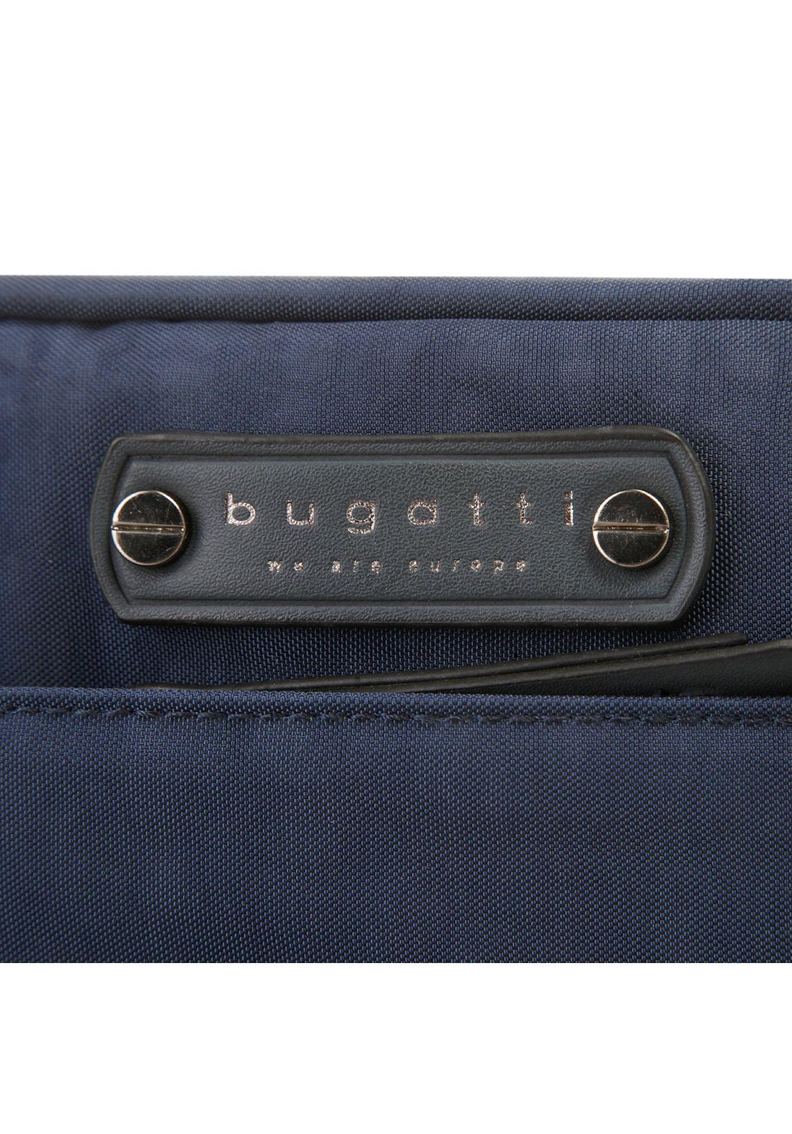 Bugatti schoudertas  BUONO makkelijk gevonden  blauw