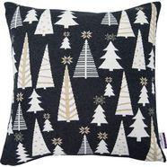 kussenovertrek, »glamour christmas«, tom tailor grijs