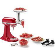 kitchenaid vlees-opzet 5ksmmga, accessoire voor kitchenaid-keukenmachine zilver