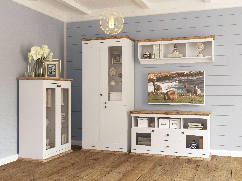 Kast Met Glasdeuren.Home Affaire Kast Banburry Met 2 Glasdeuren 83 Cm Breed Bestellen