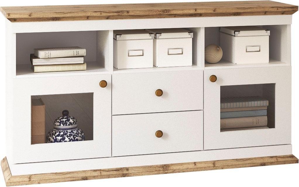 Home Affaire tv-meubel »Banburry« met 2 glasdeuren, 121,5 cm breed veilig op otto.nl kopen