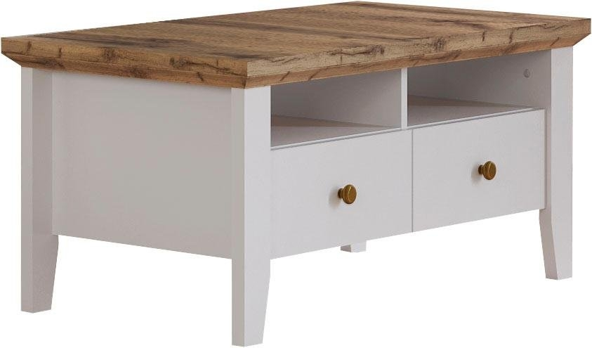Op zoek naar een Home affaire salontafel »Banburry« met 2 laden, 95,5 cm breed? Koop online bij OTTO