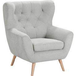 home affaire fauteuil »voss« zilver
