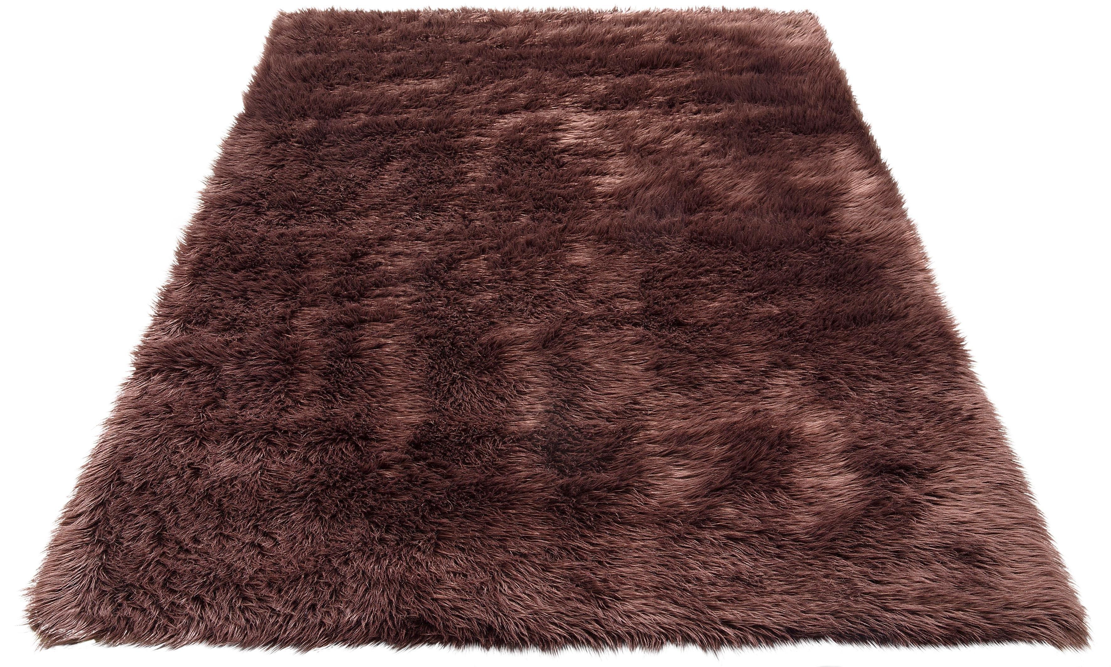 Home Affaire Hoogpolig vloerkleed, »Dena«, my home Selection, rechthoekig, hoogte 60 mm, machinaal getuft - verschillende betaalmethodes