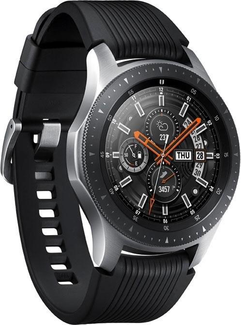 SAMSUNG Galaxy Watch - 46 mm smartwatch (3,3 cm / 1,3 inch, Tizen OS) voordelig en veilig online kopen