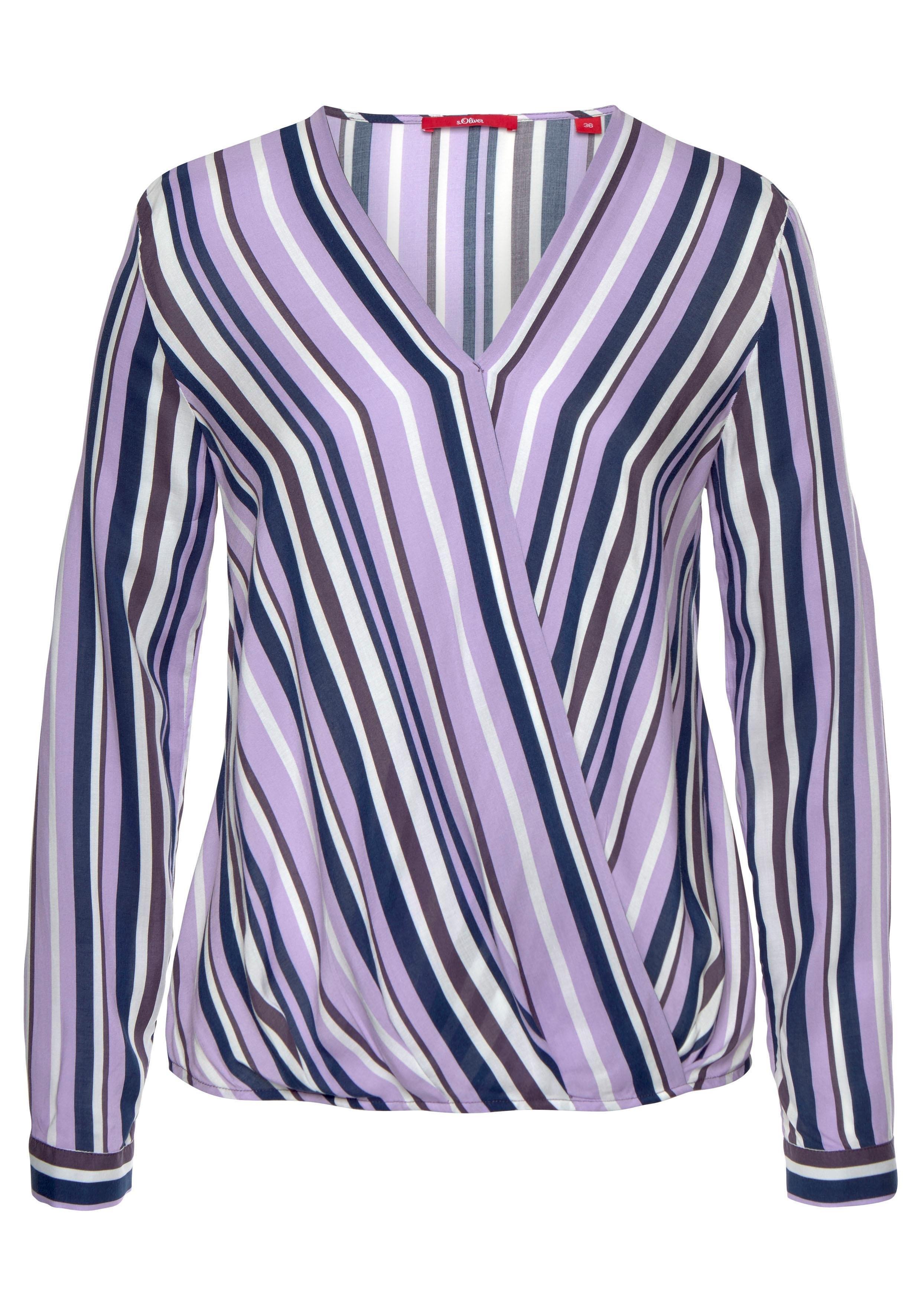 s.Oliver RED LABEL gedessineerde blouse bestellen: 14 dagen bedenktijd