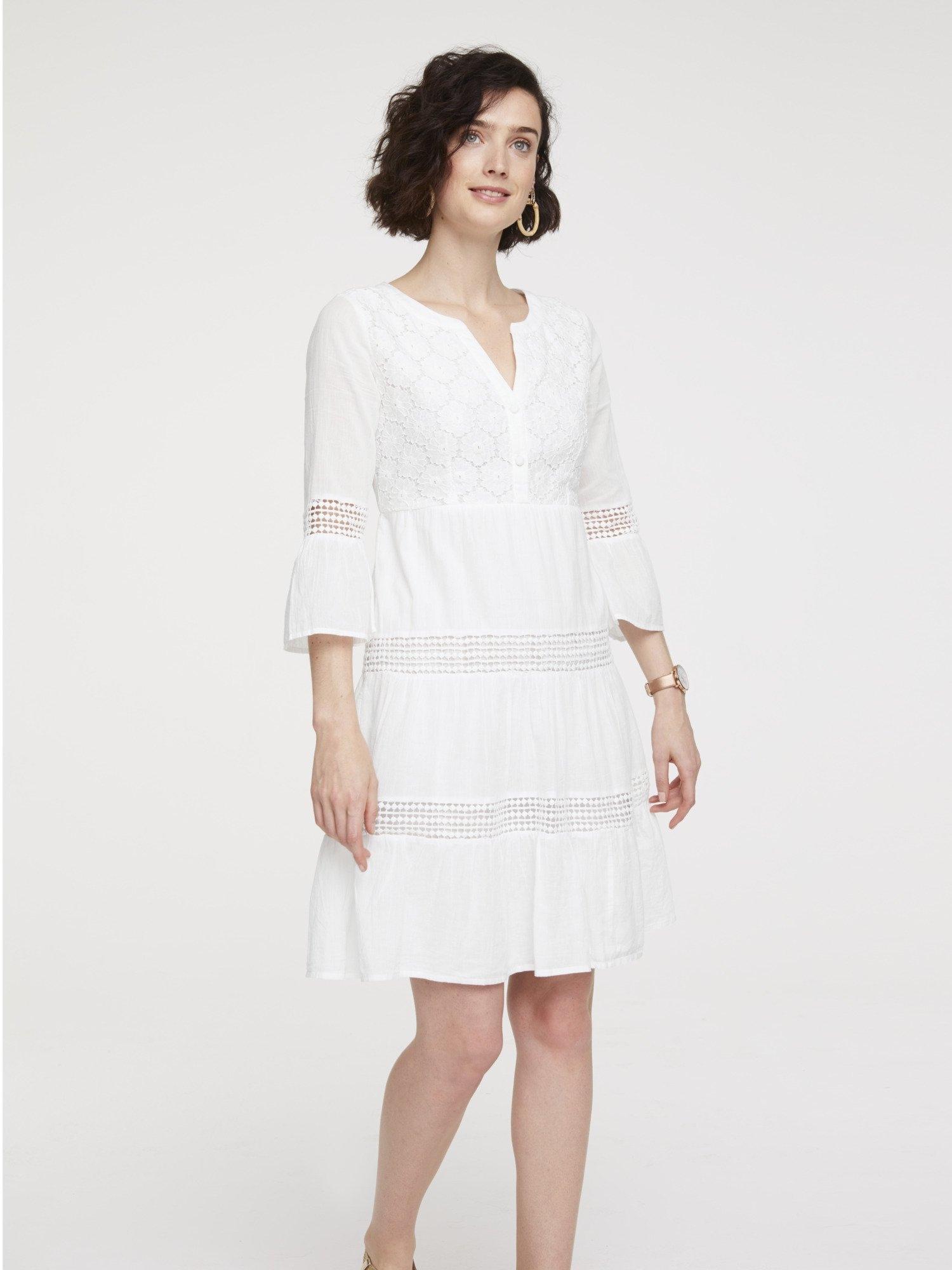 heine Kanten jurk - gratis ruilen op otto.nl