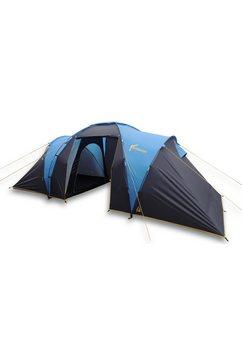 best camp koepeltent »bunburry 4«, 4 personen (2-delig, met transporttas) blauw