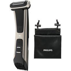 philips ladyshave bg7025-15 met geïntegreerde 3 - 11 mm opzetkam zwart