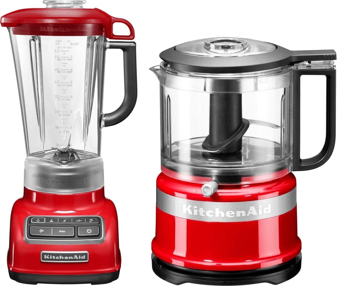 KitchenAid »5KSB1585EER und Mini Zerkleinerer 5KFC3516« blender nu online bestellen