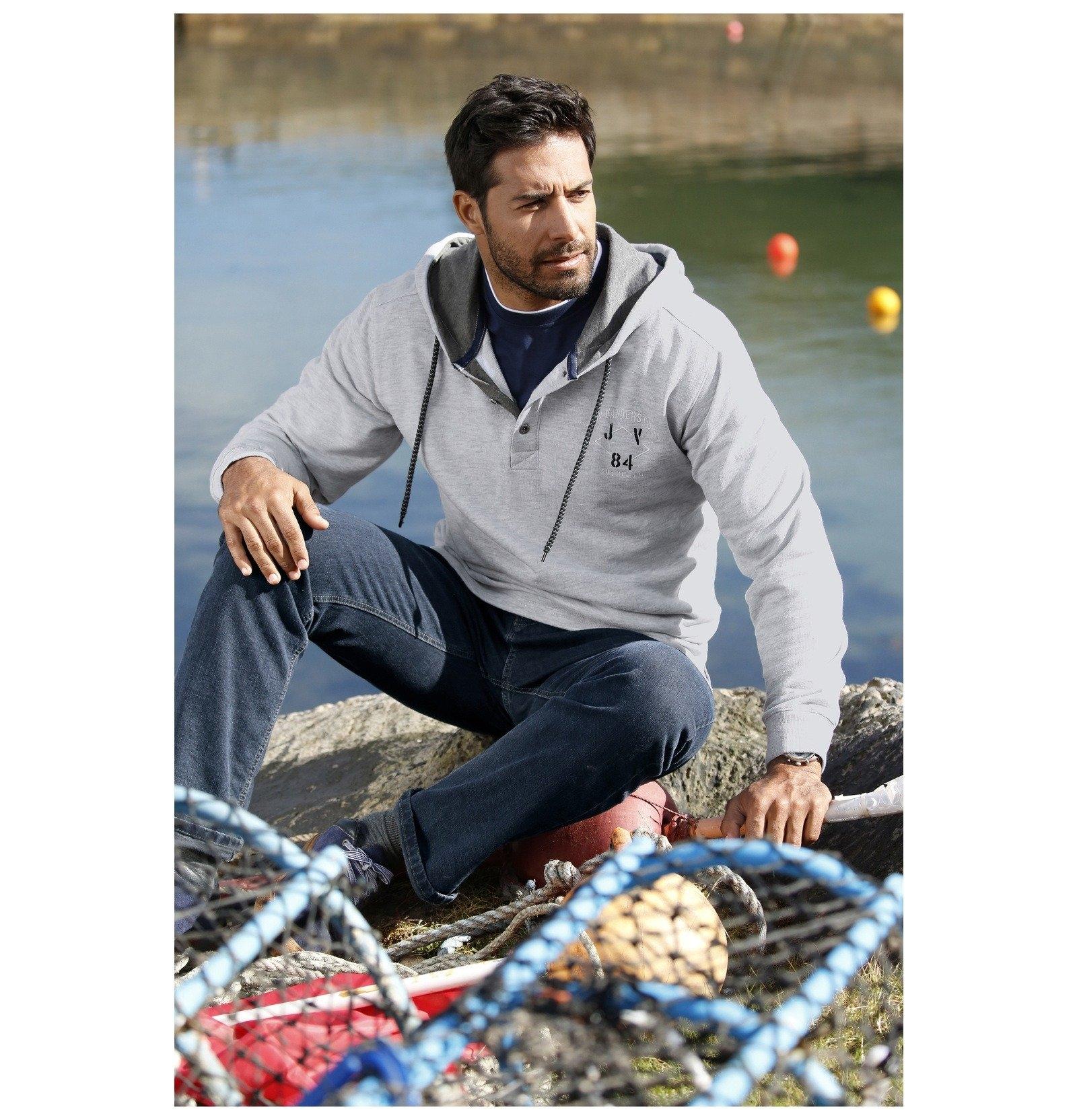Jan Vanderstorm sweatshirt met capuchon »NYRI« in de webshop van OTTO kopen