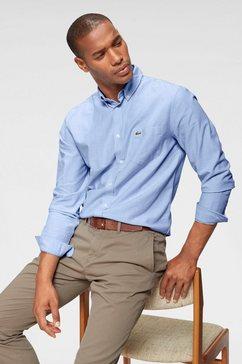 lacoste overhemd met lange mouwen »ch4976, oxford« blauw