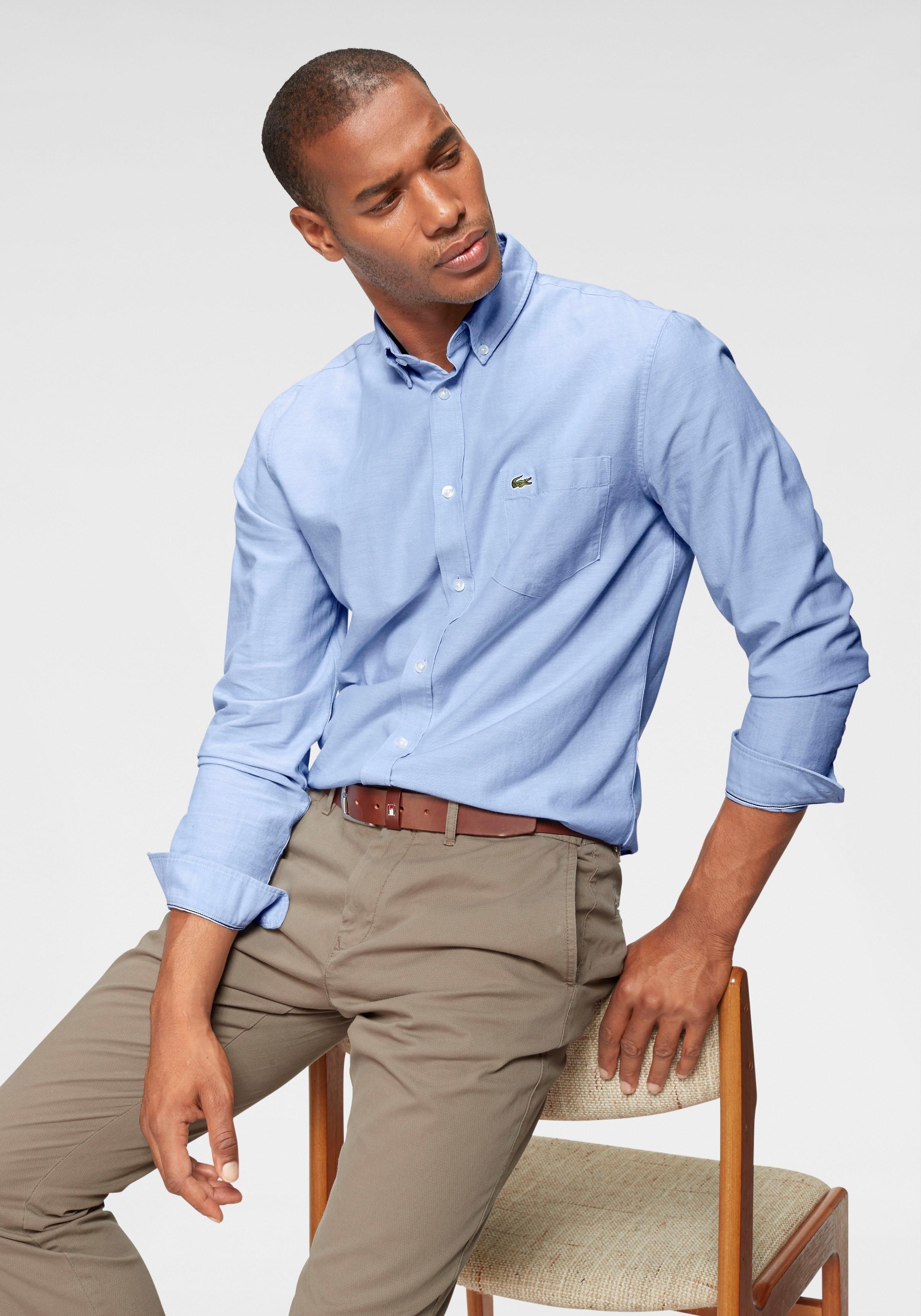 Lacoste overhemd met lange mouwen »CH4976, Oxford« goedkoop op otto.nl kopen