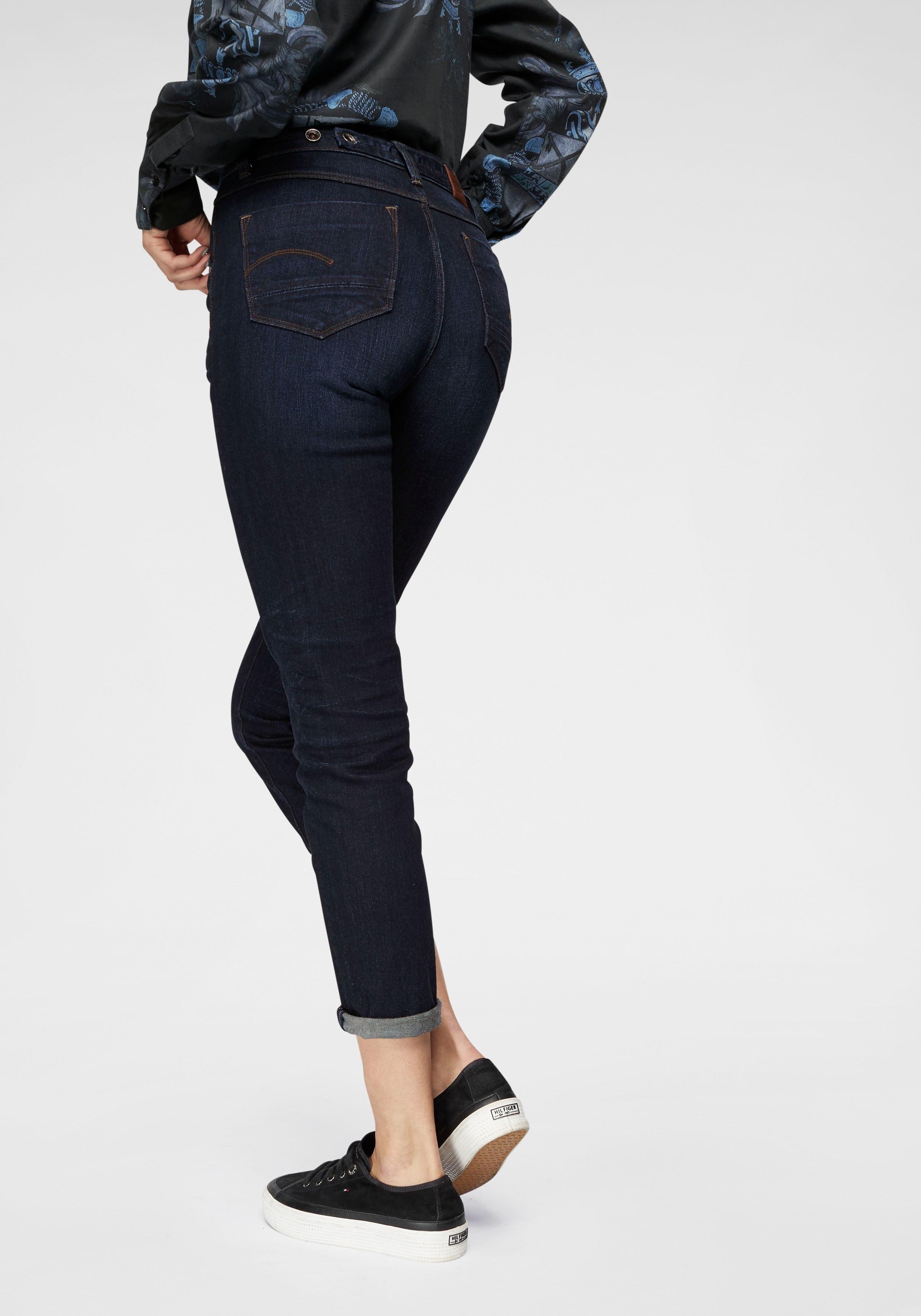 G-star Raw slim fit jeans »Midge Worker High Straight Ankle« nu online kopen bij OTTO