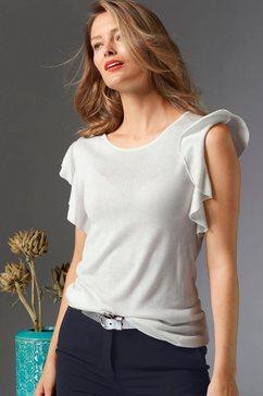 guido maria kretschmer trui met korte mouwen wit