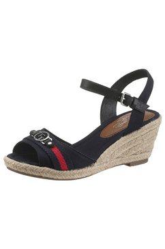 tom tailor sandaaltjes met decoratief element blauw
