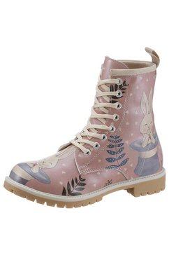 dogo veterboots »somebunny loves you« roze