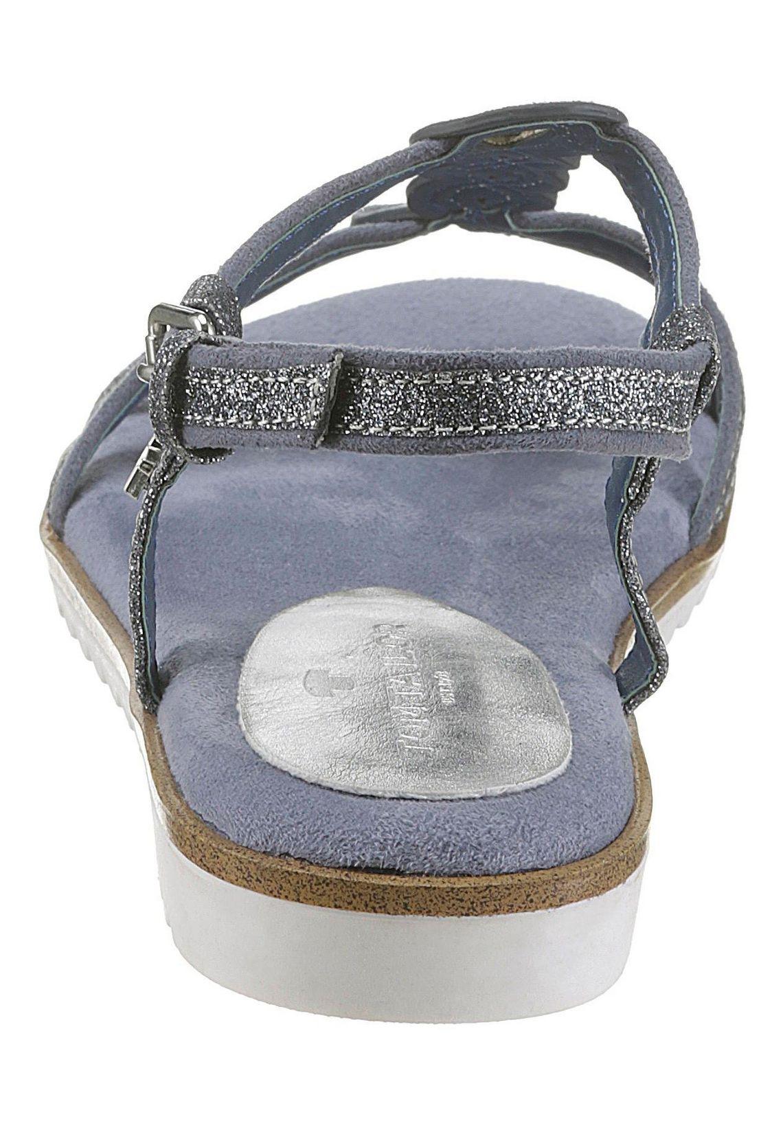 Tom Tailor sandalen makkelijk gevonden  grijsblauw