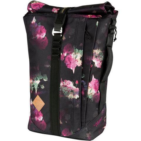 Nitro rugzak met laptopvak voor laptop van 15 inch, Scrambler Black Rose