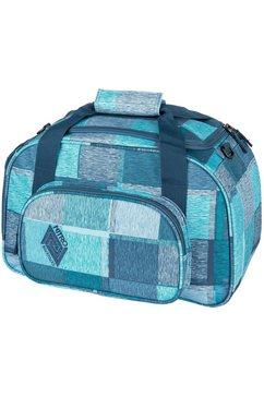 nitro sporttas duffle bag xs, zebra ice blauw