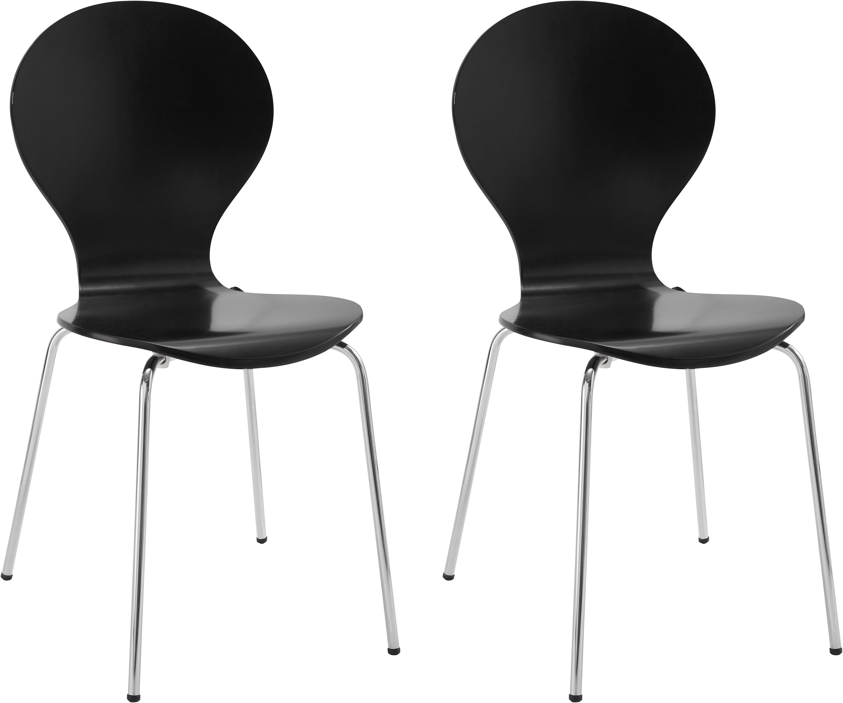 My Home stoel »Modena« in set van 2 of 4, met metalen frame, in diverse kleuren, zithoogte 47 cm bestellen: 14 dagen bedenktijd
