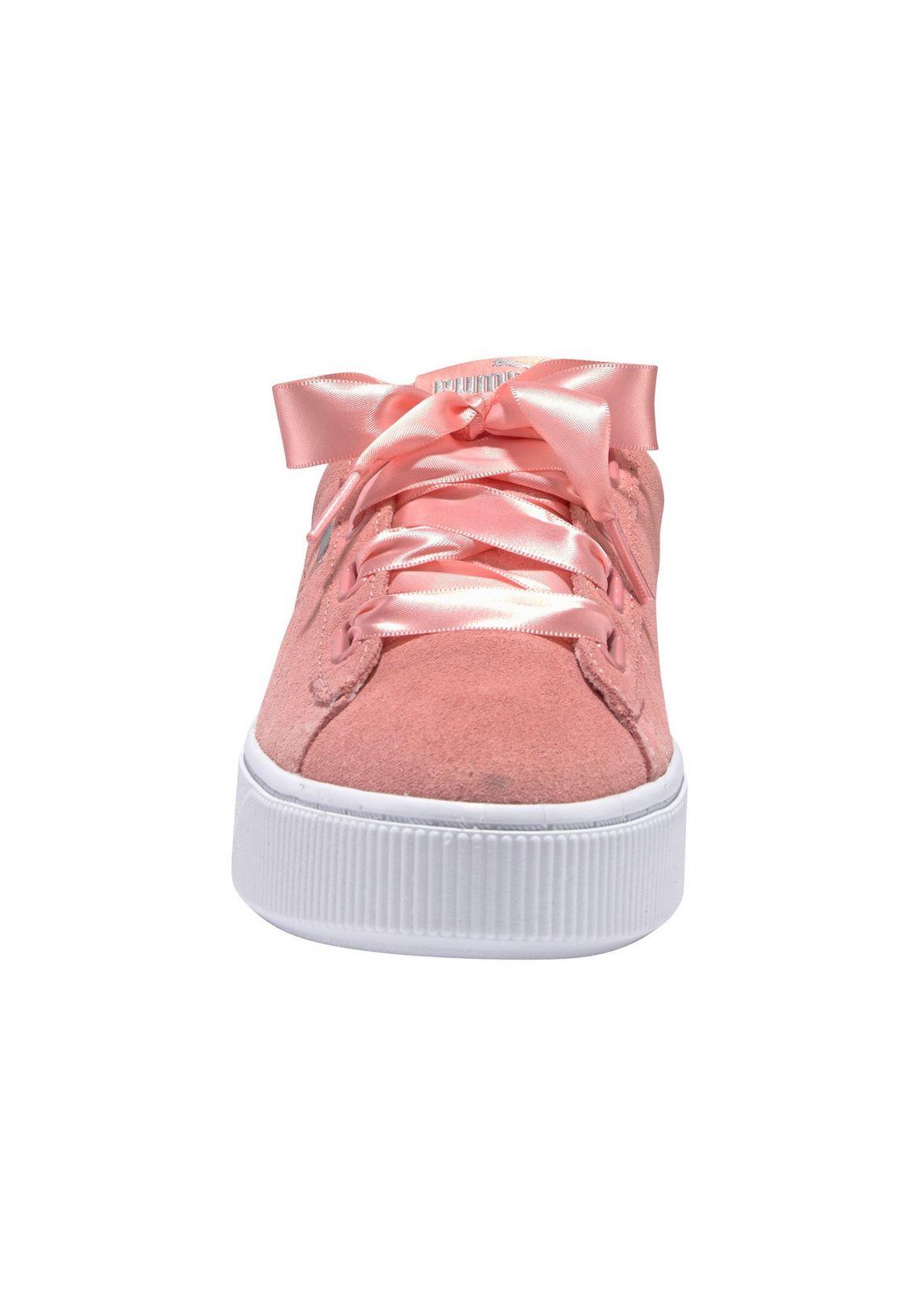 PUMA sneakers  Puma Vikky Stacked Ribbo bestellen bij  lichtpink/wit