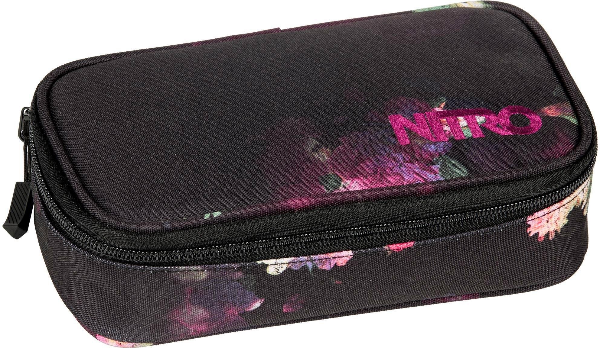 NITRO etui met inhoud, »Pencil Case XL Black Rose« bestellen: 30 dagen bedenktijd