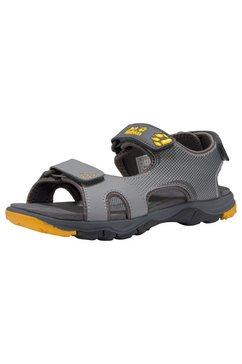 jack wolfskin outdoorsandalen »puno bay sandal b« grijs