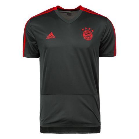 Fc Bayern München Trainingsshirt 18-19 Grijs Heren Graphite Grey