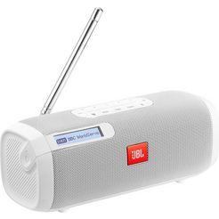 jbl tuner radio (bluetooth, digitale radio (dab+), fm-tuner met rds, 5 w) wit