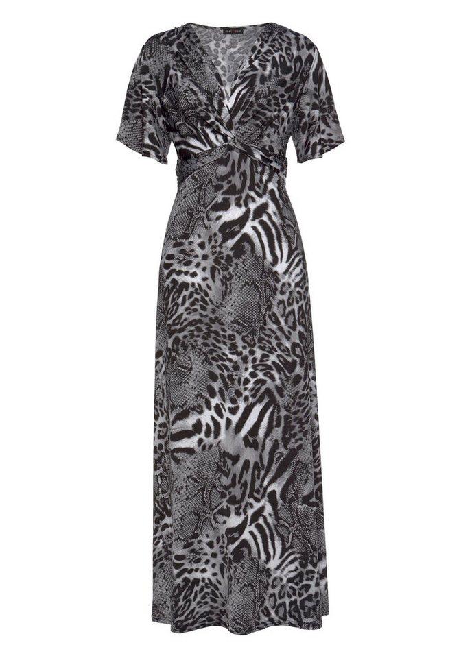 Melrose maxi-jurk grijs