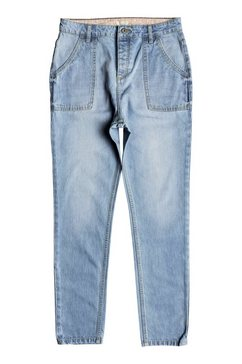 roxy relaxed fit jeans »crazy night« blauw
