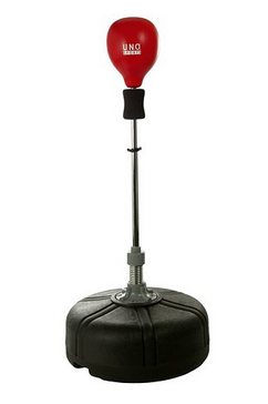 u.n.o. sports staande boksbal reflex rood