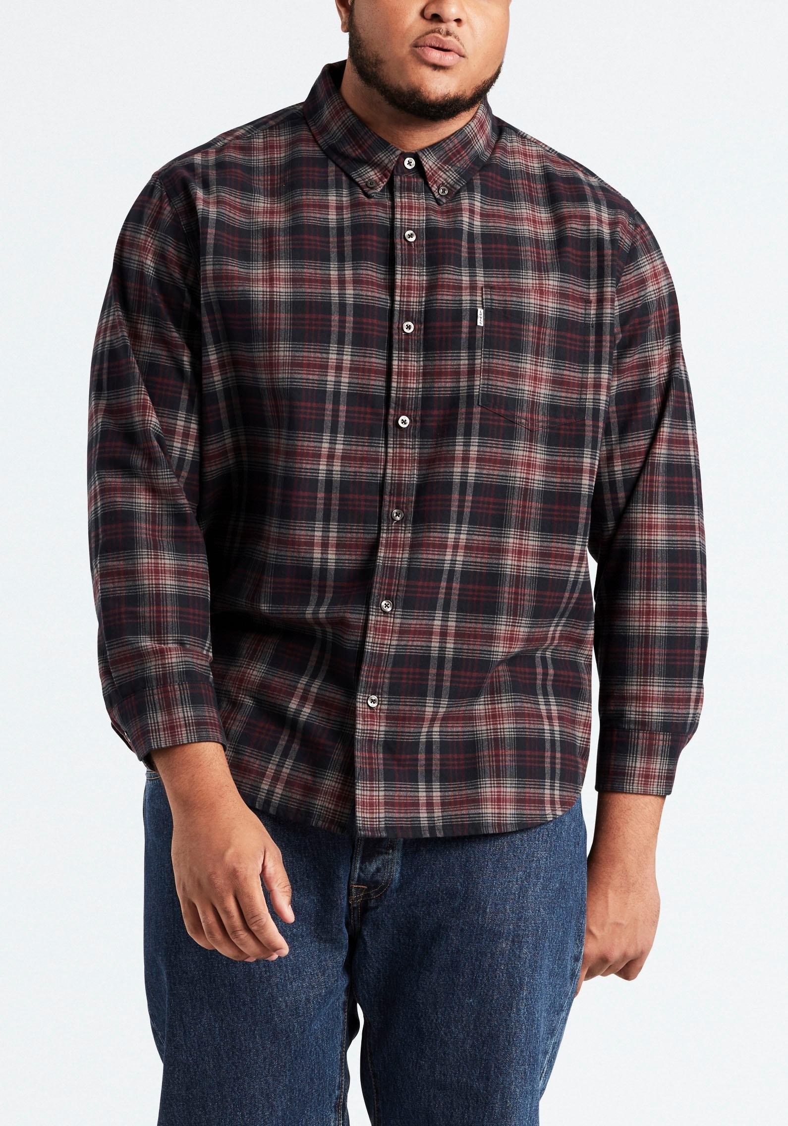 Levi's Big And Tall geruit overhemd »BIG CLASSIC 1 POCKET« bij OTTO online kopen