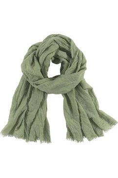 j.jayz modieuze sjaal in ontspannen look groen