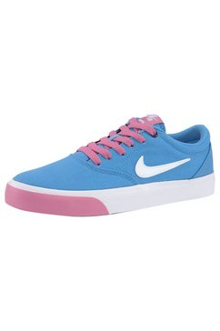 nike sb sneakers »wmns charge canvas skate« blauw