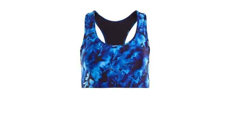Winshape sportbustier SB101-Blue-Rainflowers Functional
