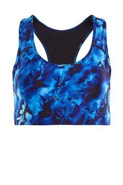 winshape sportbustier sb101-blue-rainflowers functional blauw