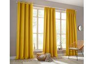 gordijn, »sola«, my home, rimpelband per stuk geel