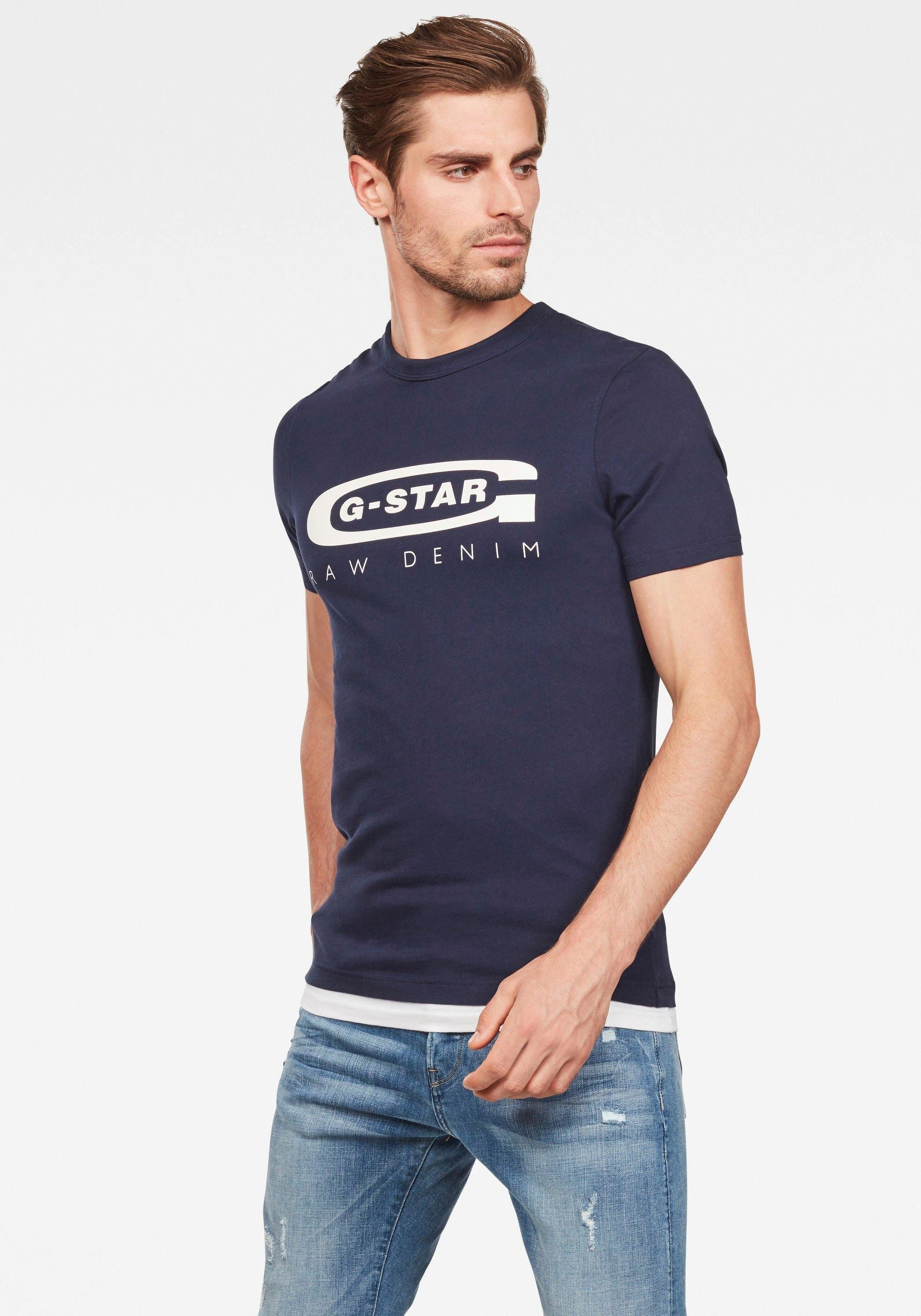 G-Star RAW shirt met ronde hals Graphic 4 in de webshop van OTTO kopen