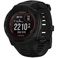 garmin smartwatch instinct solar tactical edition zwart