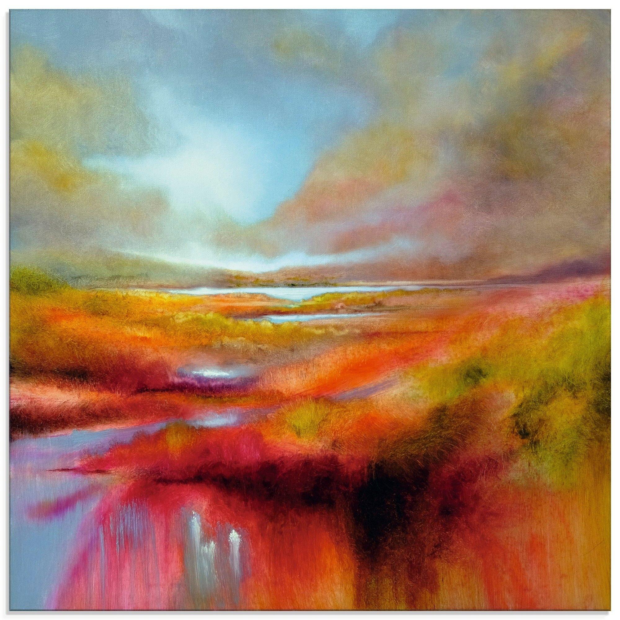 Artland print op glas Een perfecte dag (1 stuk) bij OTTO online kopen