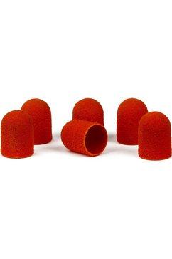 bausch pedicure-accessoires 12 slijpdoppen voor rubberhouder bruin