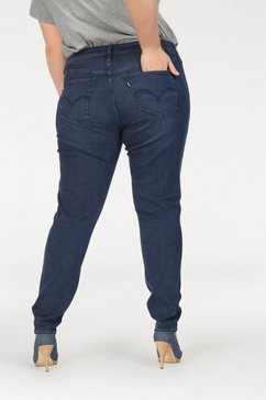"levi's plus stretch jeans »plus size shaping super skinny""310""« blauw"