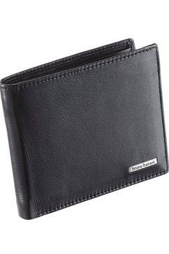 bruno banani portemonnee met bescherming persoonsgegevens functie zwart