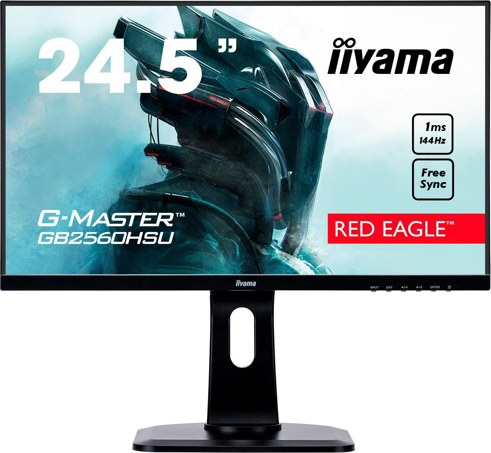 Iiyama gaming-ledscherm G-MASTER GB2560HSU-B1, 62,2 cm / 25