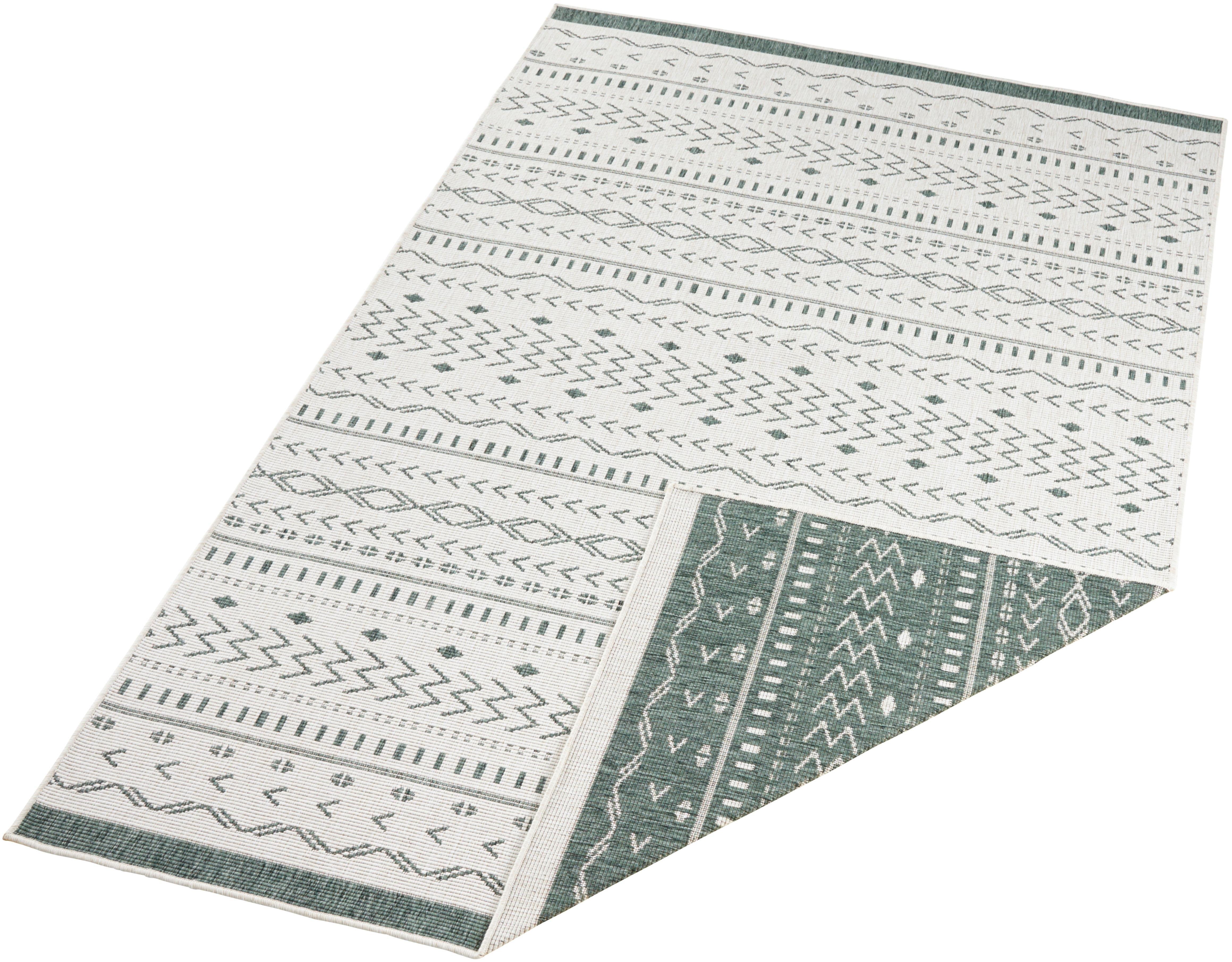 bougari vloerkleed Kuba Geschikt voor binnen en buiten, tweezijdig te gebruiken kleed, woonkamer in de webshop van OTTO kopen