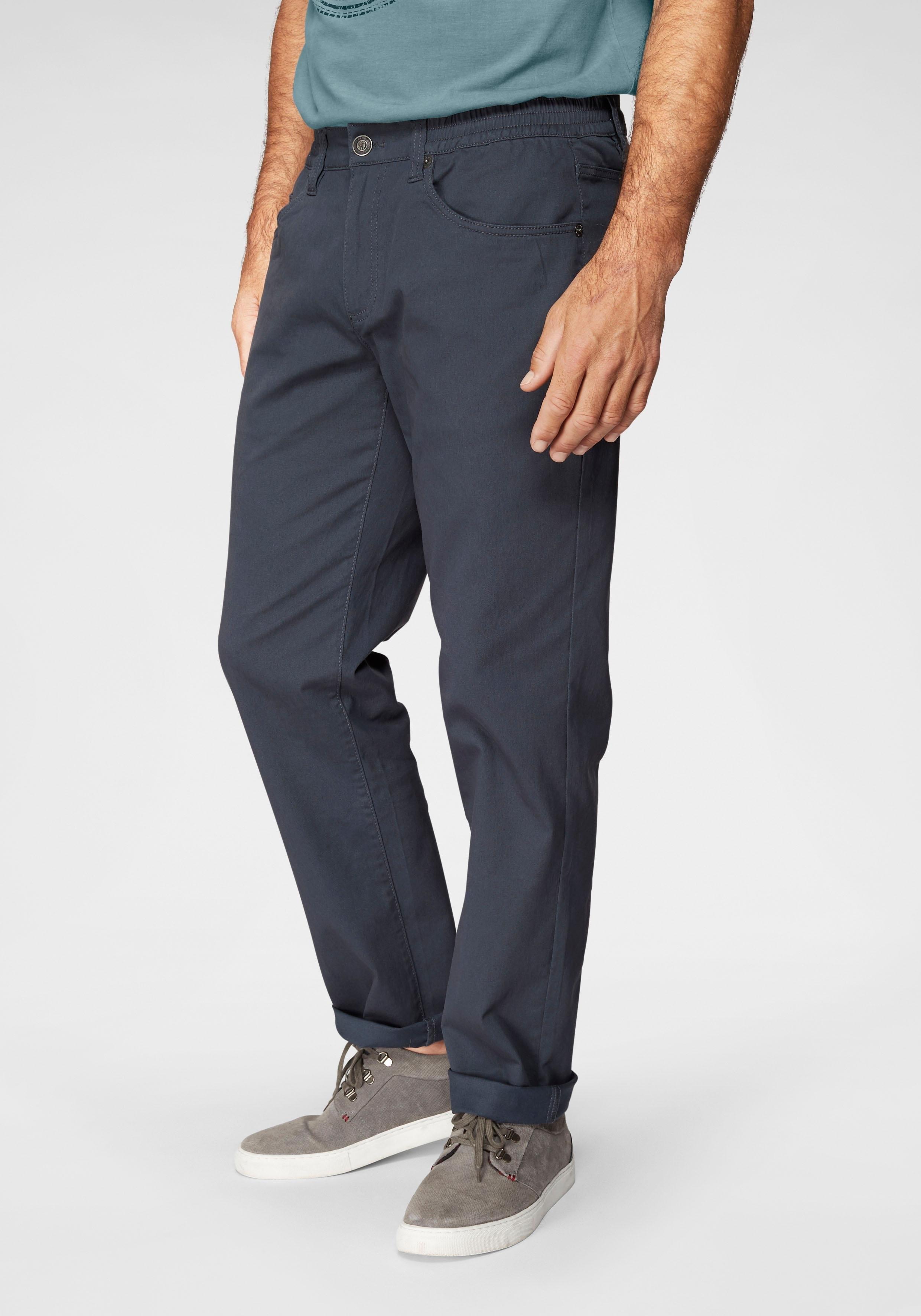 Man's World broek met elastische band Stretchbroek met een elastische band nu online bestellen