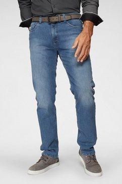 pionier 5-pocket jeans »thomas« blauw