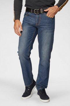 arizona slim fit jeans »scott« blauw